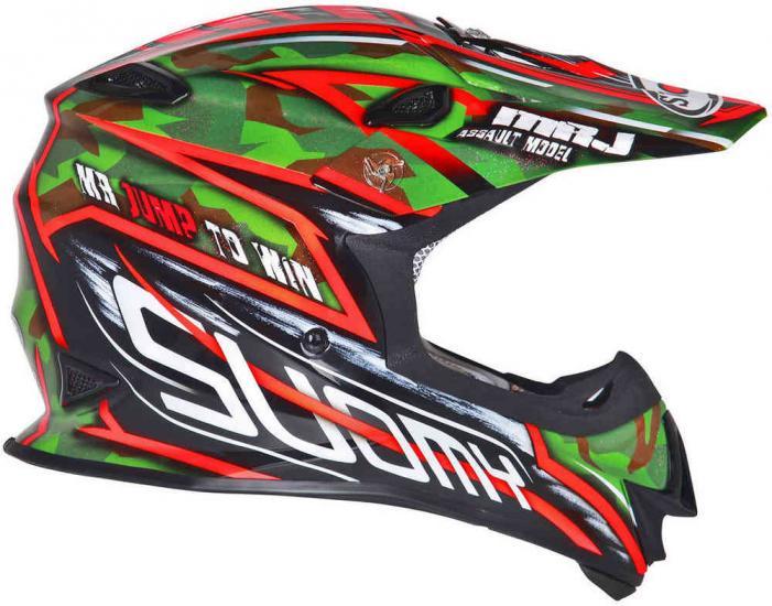 Suomy MR Jump Assault Motocross Helmet