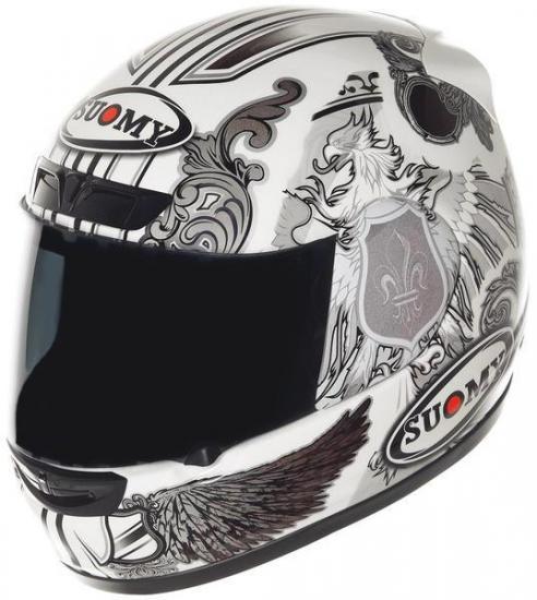 Suomy Apex White Angel Helmet