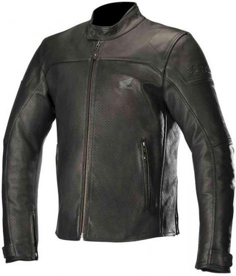 Alpinestars Honda Brera Airflow Motorcycle Leather Jacket