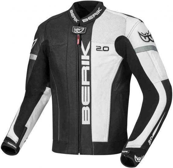 Berik Asymatic Motorcycle Leather Jacket