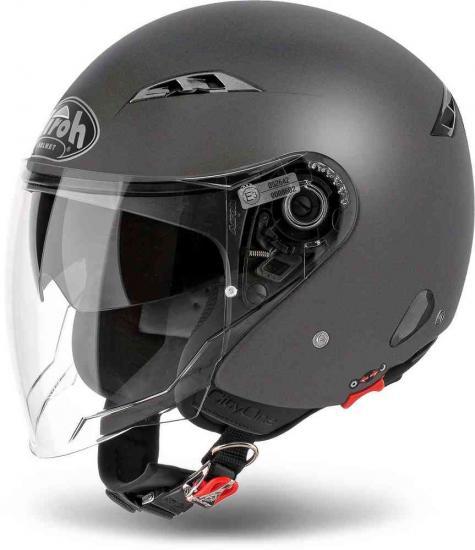 Airoh City One Color Jet Helmet