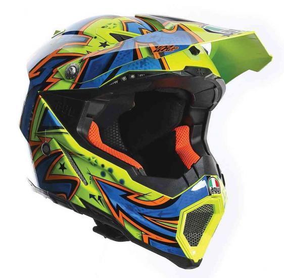 AGV AX-8 Evo Spray Motocross Helmet