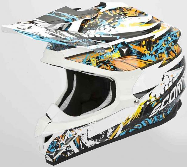Scorpion VX-15 Evo Air Horror Cross Helmet