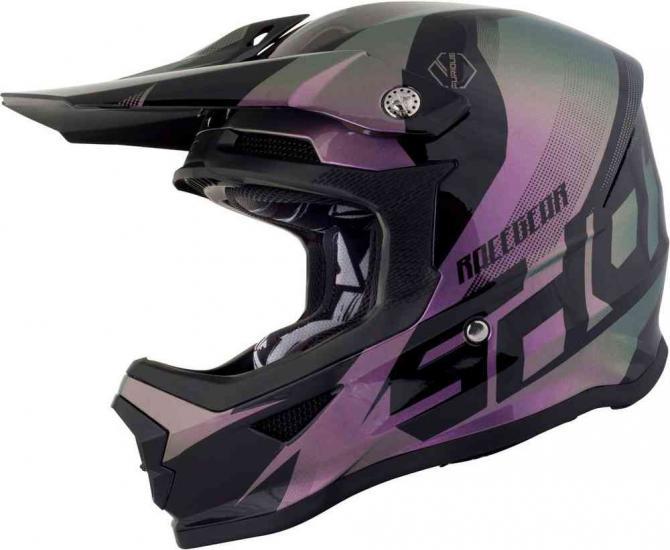 Shot Furious Ultimate Chameleon Kids Motocross Helmet