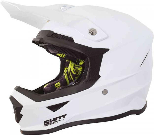 Shot Furious Solid Motocross Helmet