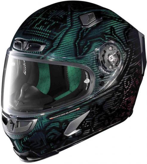 X-Lite X-803 Ultra Carbon Stoner Superhero Helmet