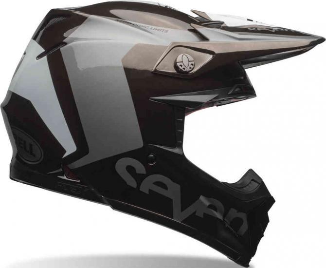 Bell Moto-9 Flex Seven Rogue Motocross Helmet