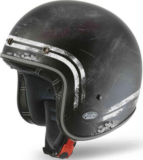 Airoh Garage Raw Jet Helmet
