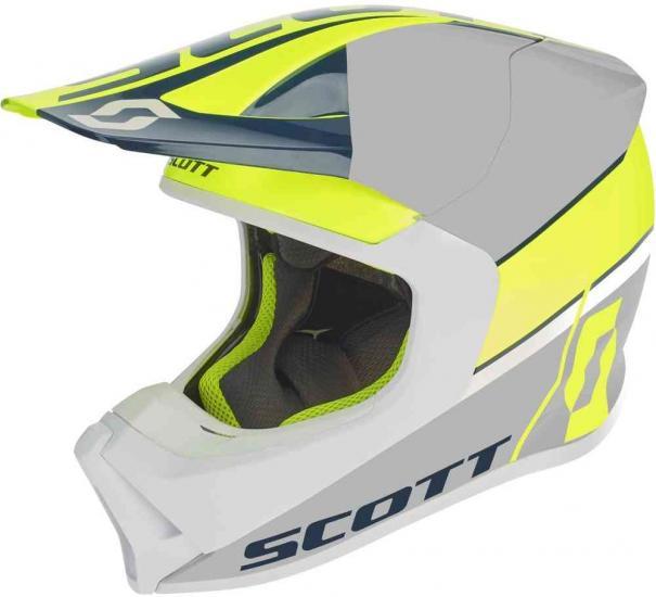 Scott 550 Split ECE Motocross Helmet