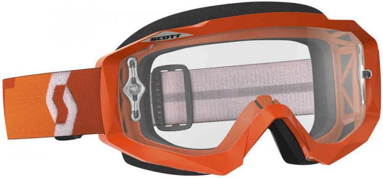 Scott Hustle MX Goggle Orange