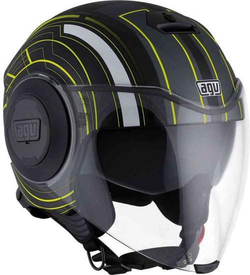 AGV City Fluid Chicago Jet Helmet