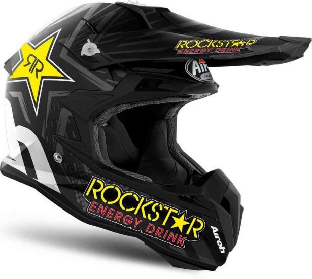 Airoh Terminator Open Vision Rockstar Motocross Helmet