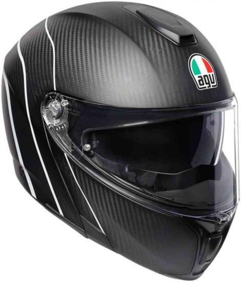 AGV Sportmodular PLK Refractive Carbon Helmet