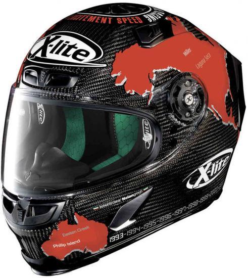 X-Lite X-803 Ultra Carbon Checa Helmet