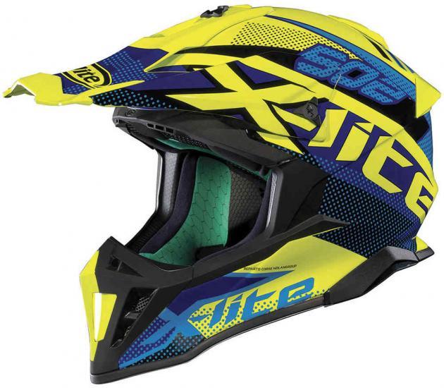 X-Lite X-502 Resistencia Led Motocross Helmet