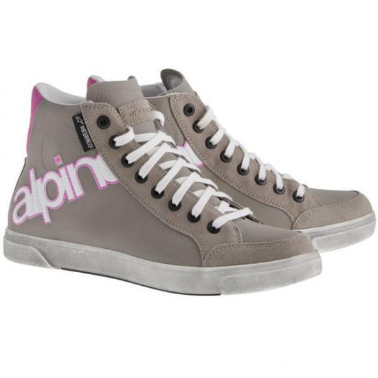 Alpinestars Stella Josey Waterproof Ladies Shoes Grey/Red