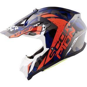 Scorpion VX-16 Air Waka motocross helmet