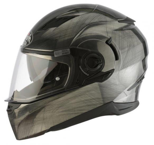 Airoh Movement Graphite Motorcycle Helmet