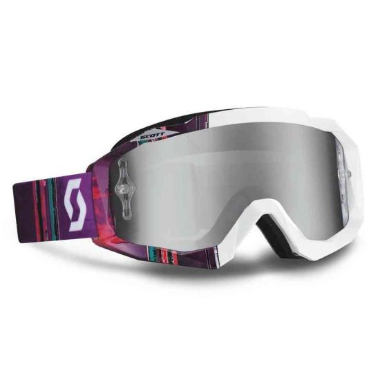 Scott Hustle Silver Chrome Works Goggles