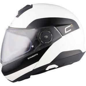 Schuberth C4 Pro Flip-Up Helmet Fragment White