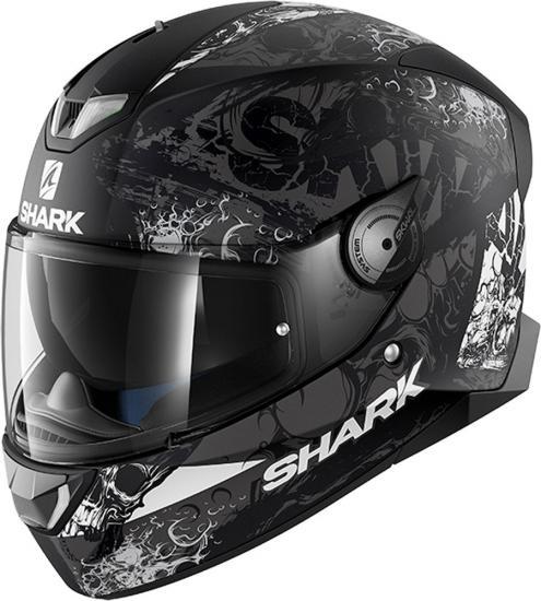 Shark Skwal 2 Nuk´Hem White LED Helmet