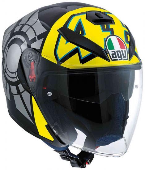 AGV K-5 Jet Winter Test 2012 Top Helmet