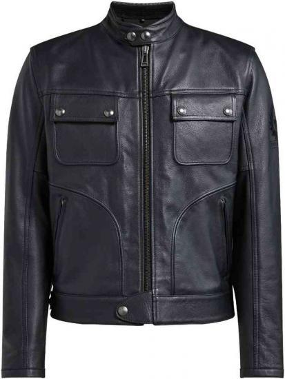 Belstaff Slider Motorcycle Leather Jacket