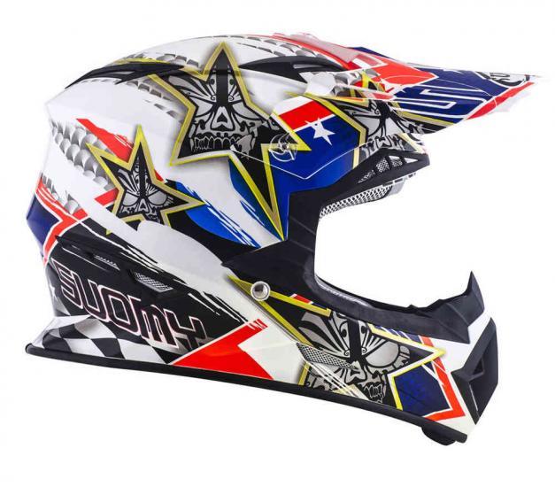 Suomy Rumble Tex Motocross Helmet
