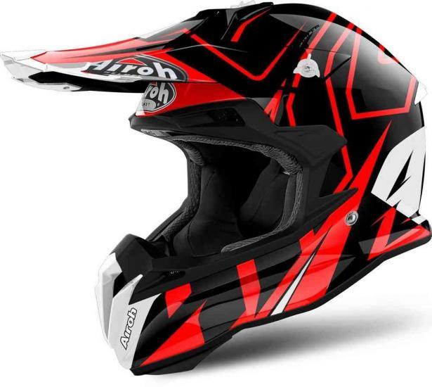 Airoh Terminator Open Vision Shock Motocross Helmet