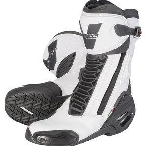Vanucci RV6 Performance Racing Boot White/Black