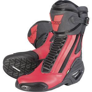 Vanucci RV6 Performance Racing Boot Black/Red