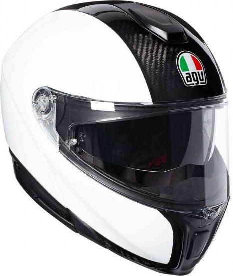 AGV Sportmodular Carbon Helmet White