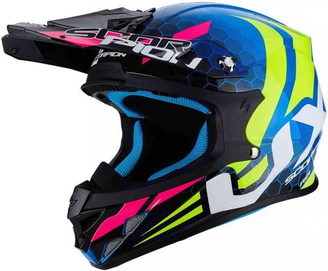 Scorpion VX-21 Air Xagon Motocross Helmet