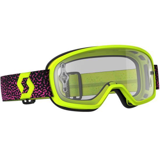 Scott Buzz MX Pro Kids Motocross Goggles Clear
