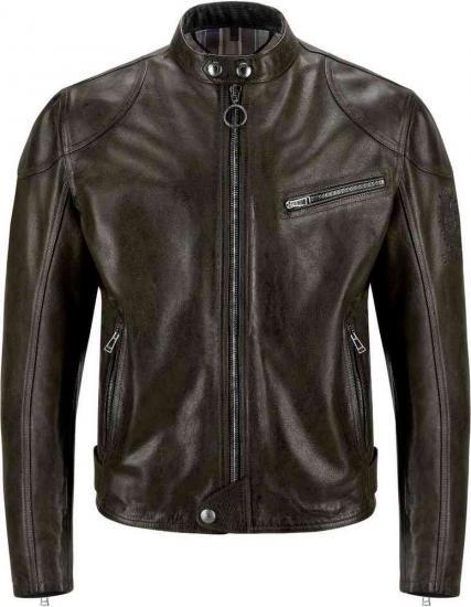 Belstaff Supreme Motorcycle Leather Jacket