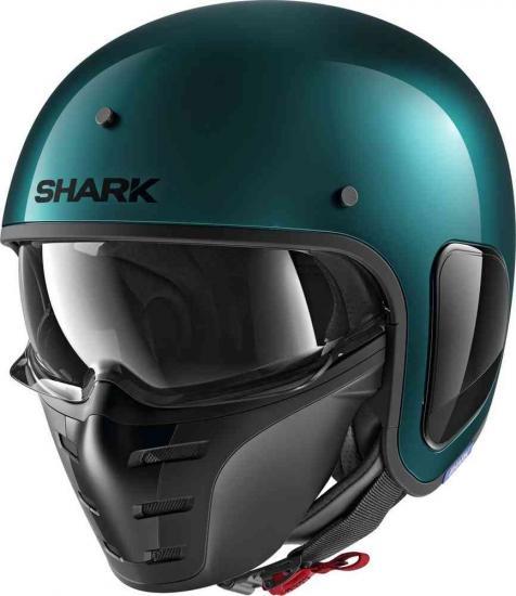 Shark S-Drak Blank Metal Jet Helmet