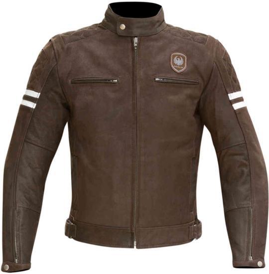 Merlin Hixon Heritage Motorcycle Leather Jacket