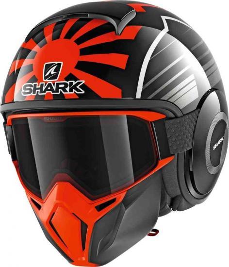 Shark Street-Drak Replica Zarco Malaysian GP Jet Helmet
