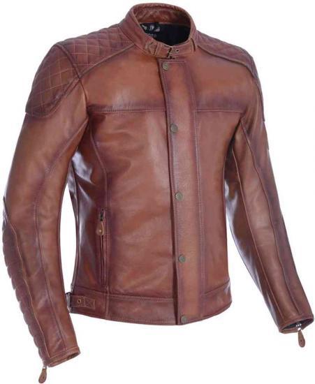 Oxford Hampton Motorcycle Leather Jacket