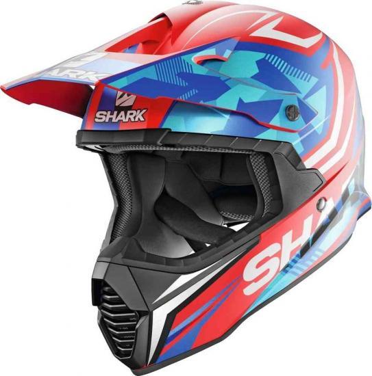 Shark Varial Replica Tixier Mat Motocross Helmet