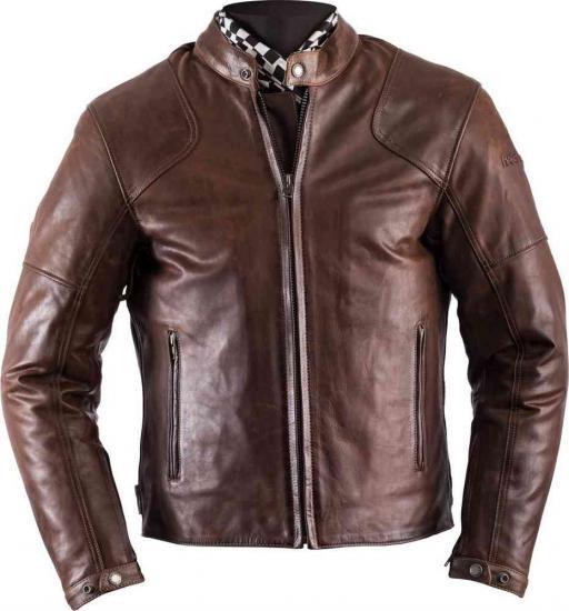 Helstons Heat Motorcycle Leather Jacket Brown