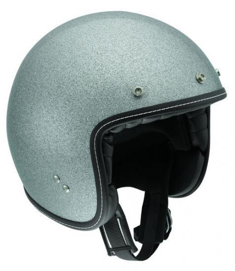 AGV RP60 Silver Metal Flake Helmet