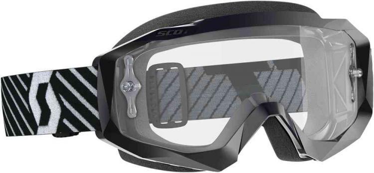 Scott Hustle X Clear Motocross Goggles