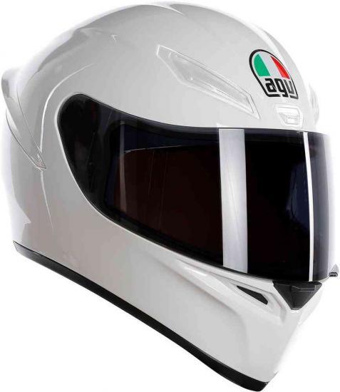 AGV K-1 Motorcycle Helmet White/Black
