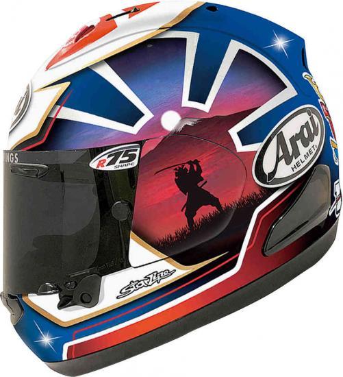 Arai RX-7V Pedrosa Spirit Special Edition Helmet