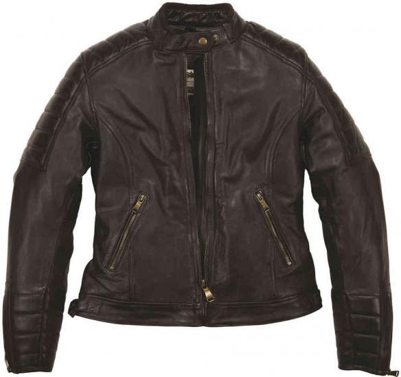 Helstons Claudia Rag Ladies Leather Jacket