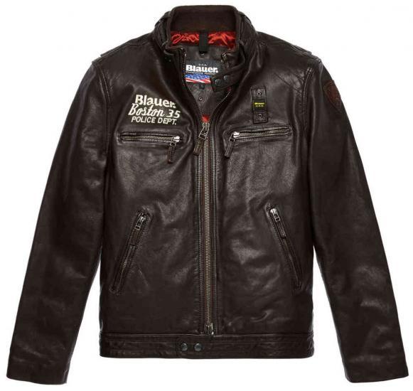 Blauer USA Rider Boston 35 Leather Jacket