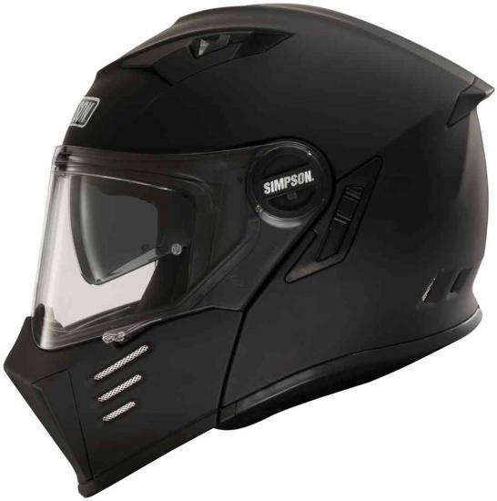 Simpson Darksome Solid Motorcycle Helmet