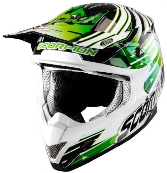 Scorpion VX-20 Air Star Trooper Cross Helmet