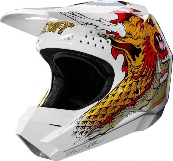 Shift WHIT3 Caballero X Lab Motocross Helmet